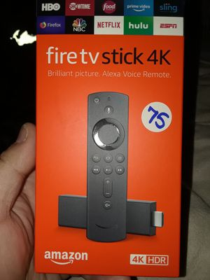 4k hdr amazon fire tv stick 🔓🔓🔓 for Sale in Hollywood, FL