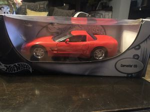 Hot Wheels Corvette C5 Diecast Car 1:18 Scale for Sale, used for sale  Floresville, TX