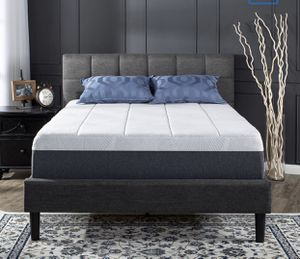 """New 13.5"""" cool gel memory foam Queen size mattress only for Sale in Columbus, OH"""