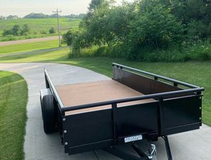 Beautiful PJ Utility Trailer For Sale. $1OOO for Sale in Independence, KS
