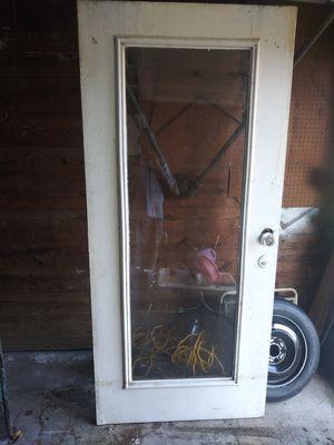 """Metal glass door 36"""" x 79 1/4"""" for Sale in San Antonio, TX"""