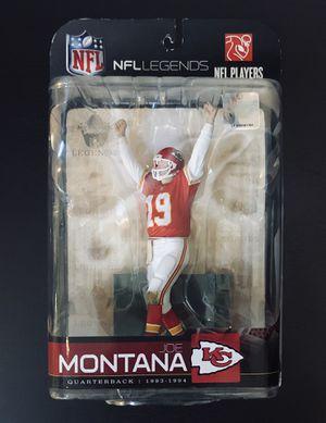 2009 Joe Montana KC Kansas City Chiefs NFL Football Legends Series 5 McFarlane Action Figure - BRAND NEW! for Sale in Citrus Heights, CA