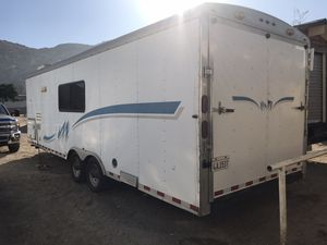Mirage 2005 Toy hauler trailer with small kitchen and bath with shower Can Sleep up to three people $$ 7,900 Serious people only for Sale in Norco, CA