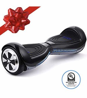 "EYCI Hoverboard Electric Self Balancing Scooter UL 2272 Certified Two Smart 6.5"" Wheel Scooter with 250W Dual-Motor Ideal Gift for Kids & Adults (Bla for Sale in Fort Belvoir, VA"