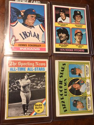 1970s topps cards for Sale in East Kingston, NH