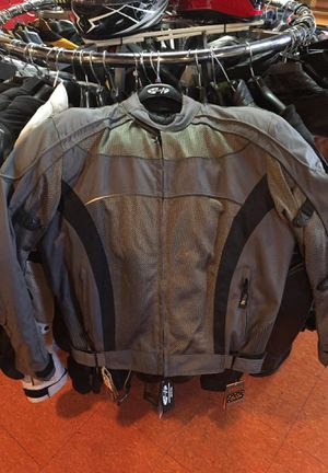 New grey motorcycle armor jacket $120 for Sale in Whittier, CA