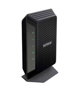 NETGEAR - 32 x 8 DOCSIS 3.0 Cable Modem - Black for Sale in Fontana, CA