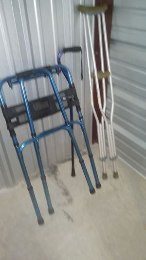 Walker crutches and cane for Sale in Prosper, TX