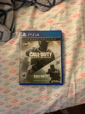 Infinite Warfare and Modern Warfare Remastered for Sale in Glendale Heights, IL
