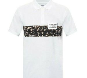 Burberry Somerville Leopard Panel Polo for Sale in Stratford, CT