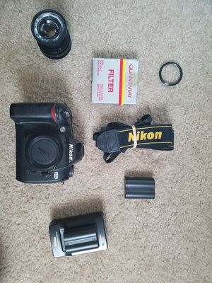 Nikon D70 ultraviolet photography setup for Sale in Oregon City, OR