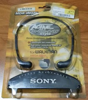 Sony MDR-W08L Headphones for Sale in Avon Lake, OH