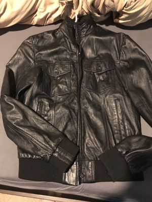 Men's Zara leather jacket. for Sale in Portland, OR