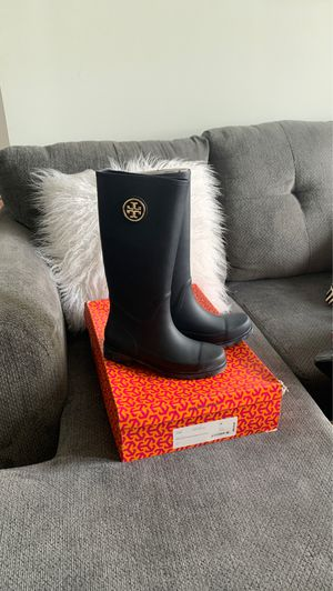 Tory Burch rain boots size 9 for Sale in UNIVERSITY PA, MD