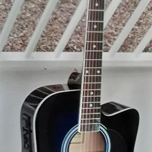 Brand new Midnight blue Acoustic Electric Cutaway Guitar for Sale in Mt. Juliet, TN