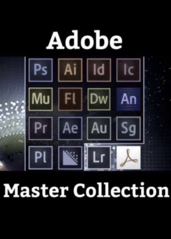 Adobe Suite Master Collection - *NEW*