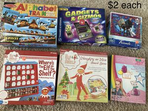 Games/ puzzles for Sale in Santee, CA