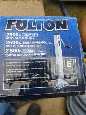 Fulton 2500 lbs. Trailer Jack for Sale in El Cajon, CA