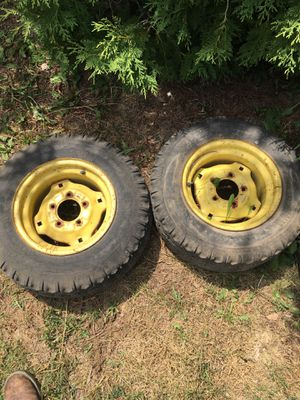 Tractor rims and tires for Sale in Pendleton, IN