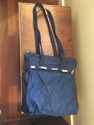Le Sport Sac Navy Small Carry-on Style Bag for Sale in Colorado Springs, CO