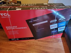 4K TCL Roku TV 55 Inch for Sale in Winter Park, FL