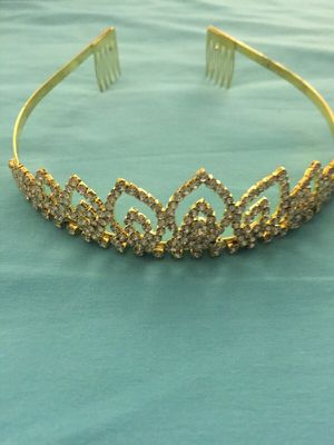 Gold Tiara for Sale in Tampa, FL