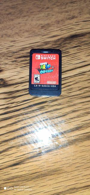 Super Mario Odyssey nintendo switch for Sale in Ocoee, FL