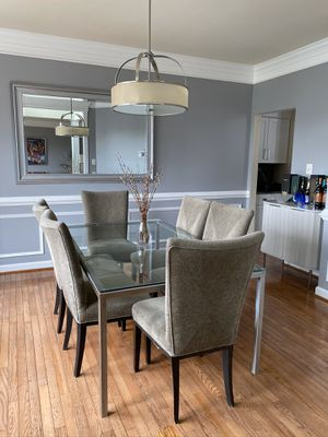 Storehouse Glass Table and Chairs for Sale in Rockville, MD