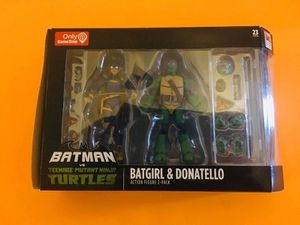 Batgirl & Donatello Action Figure 2 pack for Sale in Philadelphia, PA