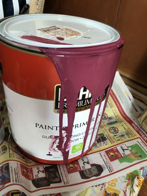 """Wine Not"" Gallon of paint for Sale in Lakeland, FL"