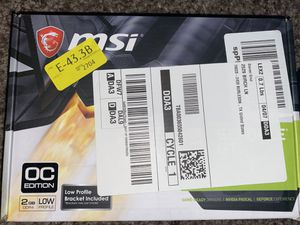 GeForce gt 1030 graphics card for Sale in Burleson, TX
