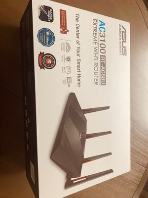 Router Asus AC3100 RT- AC88U for Sale in Manhattan, IL