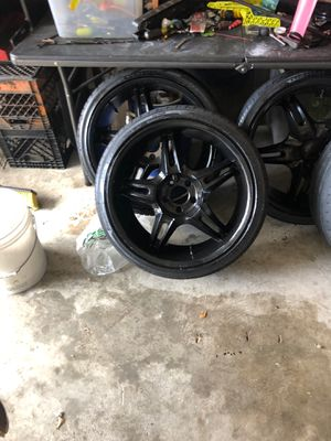 20 inch blacked out rims for Sale in Houston, TX