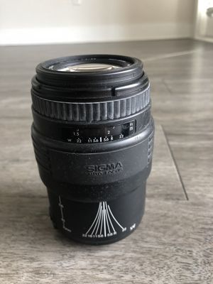 Canon Sigma 70-210mm lens auto focus for Sale in Tampa, FL