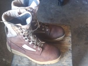 Made in USA- BelleVille 340DES ST used tall boots size 10.5 tall /working boots for Sale in Miami Gardens, FL