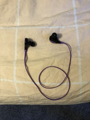 SoundPEATS Wireless Bluetooth Headphones In Ear Sport Earbuds Purple (shipping only) for Sale in Fairfax, VA