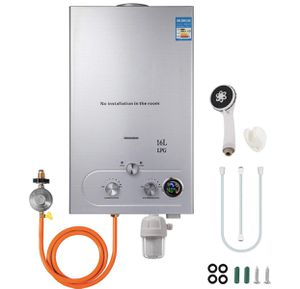 VEVOR 16L Tankless Hot Water Heater Propane Gas 4.3GPM Water Filter LED Display for Sale in Diamond Bar, CA