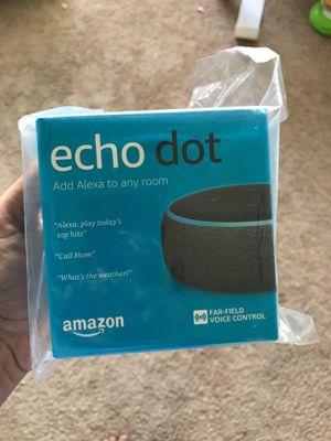 Echo dot 3rd gen - New sealed for Sale in San Antonio, TX