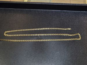 """25"""" 14K Gold Gucci/Anchor Link Chain for Sale in San Diego, CA"""