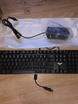 Havit Mechanical Gaming Keyboard and Mouse Combo for Sale in Mead,  WA
