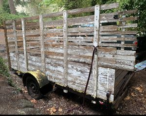 6x12 single axel trailer for Sale in Mercer Island, WA