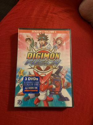 Digimon Fusion /Season 1 Volume 1 - DVD for Sale in Detroit, MI