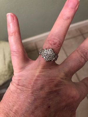 This diamond ring has diamonds all over it and is very sparkling beautiful for Sale in Antioch, CA