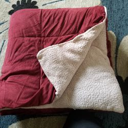 Micromink Sherpa blanket for Sale in Lake Forest,  CA