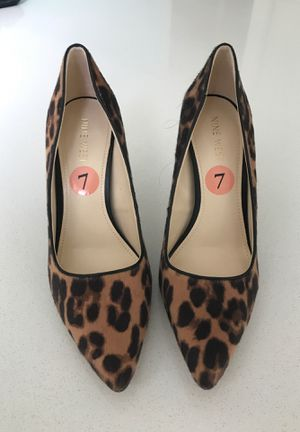 Cheetah print high heels for Sale in Gig Harbor, WA