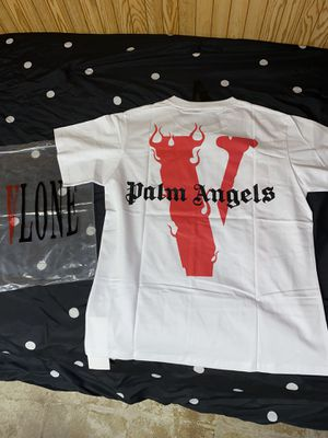 Vlone Palm Angels White Tee for Sale in Chicago, IL