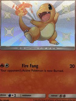 Pokemon Cards - Hidden Fates - Shiny Charmander for Sale in Sacramento,  CA