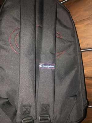 Black champion small backpack for Sale in Ontario, CA