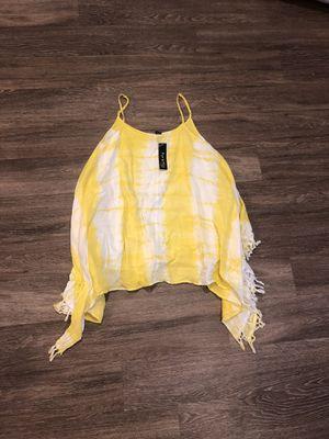 Yellow tie dye dress for Sale in Henderson, NV
