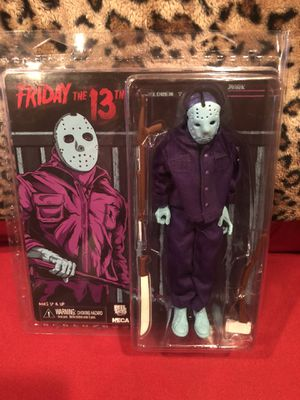 NECA REEL TOYS FRIDAY THE 13TH NES Version JASON Voorhees FIGURE  8 bit video game for Sale in West Hollywood, CA